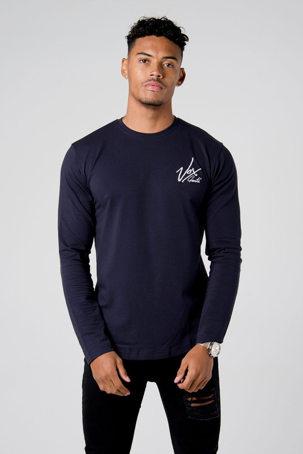 fitted full sleeve t-shirt